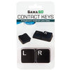 Contact lens case.  typewriter keys