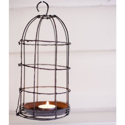 Bird cage T Light Holder