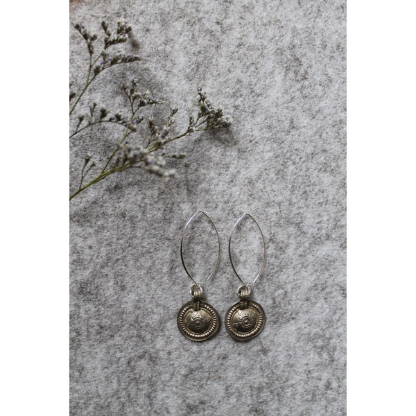 Roman inspired earrings