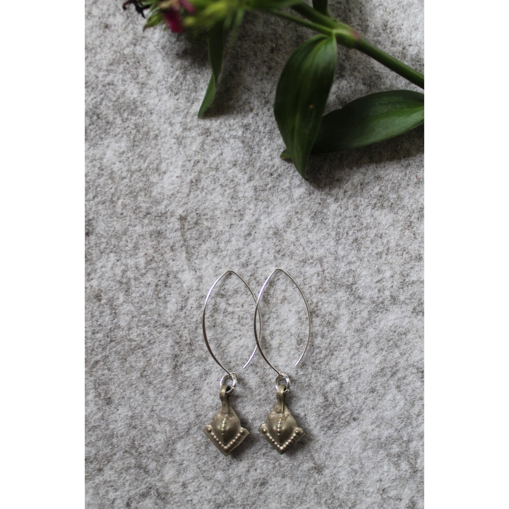 Roman diamond earrings