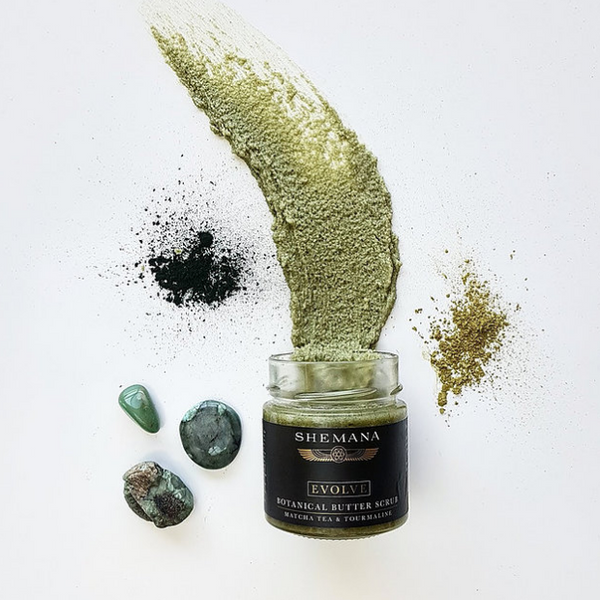 Evolve Botanical Butter Scrub