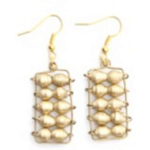 Abacus Earrings