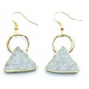 Paper Pulp Earrings