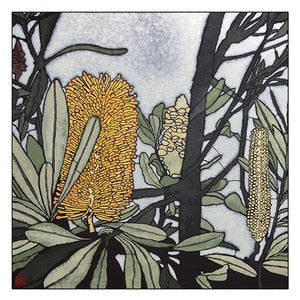 Banksia Integrifolia Small and Large Prints