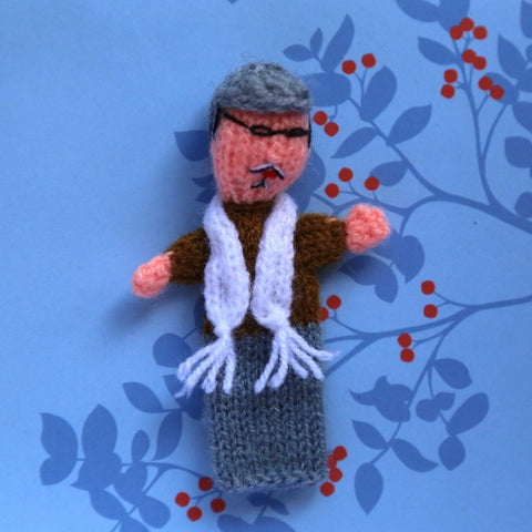 Grandfather Finger Puppet