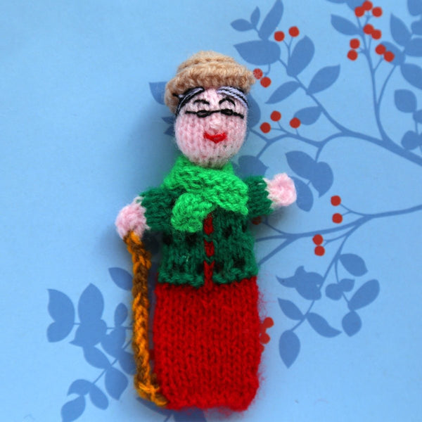 Grandmother Finger Puppet