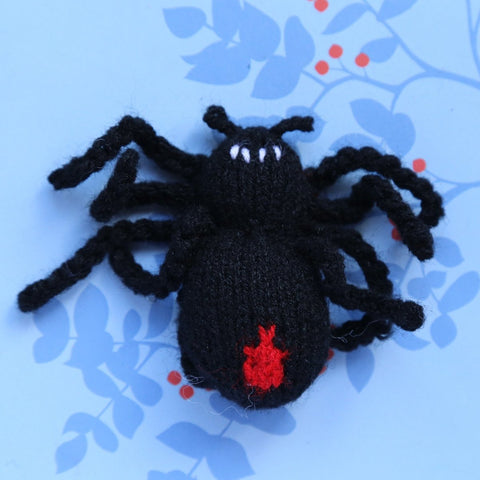 Red Back Spider Finger Puppet