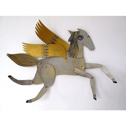 Ginger/Winged Grey Horse