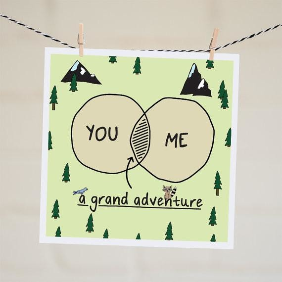 You/Me A Grand Adventure Card