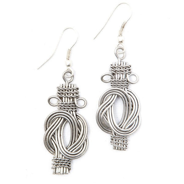 Buddha Knot Earrings