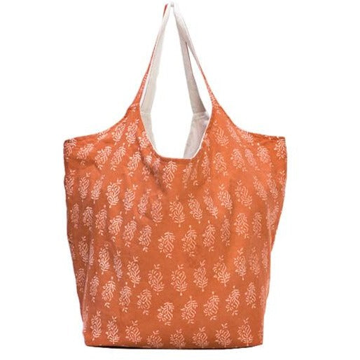 Duchess Tote Bag in Burnt Orange