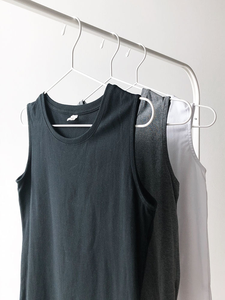 Better Fit Cotton Sleeveless Top in Black
