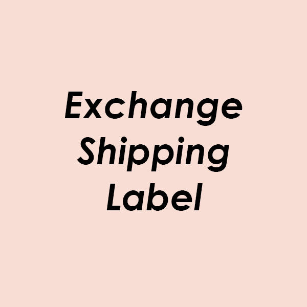 Exchange Shipping Label