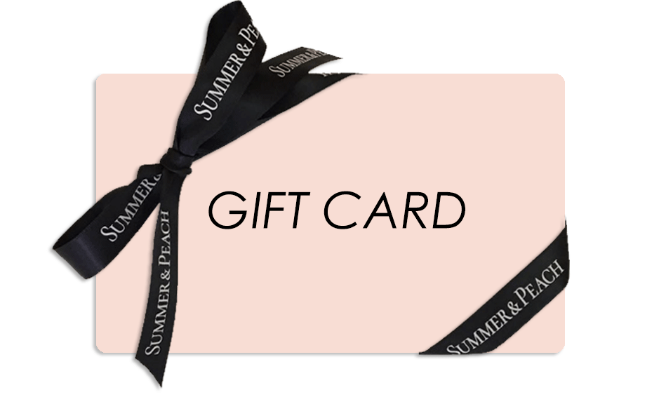 summer & peach gift card