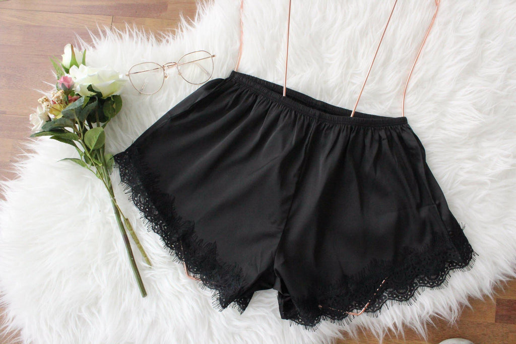 Cute satin sleep shorts Malaysia review Best satin pyjamas shorts Malaysia Top satin shorts Jakarta satin pyjamas shorts Indonesia Comfy and pretty shorts Top sleepwear shorts Lace satin shorts Luxurious pyjamas shorts Bridal Lace Satin Wear Sleep satin shorts  Where to buy satin shorts