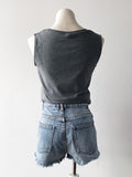 Better Fit Cotton Sleeveless Top in Grey