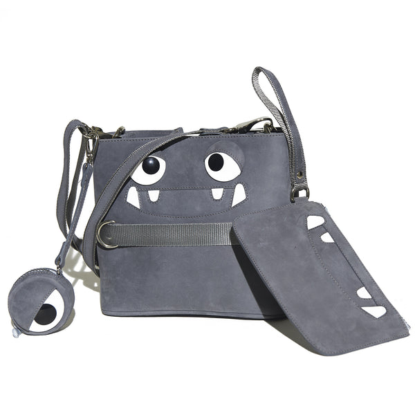 Mormo Spike Wristlet Purse