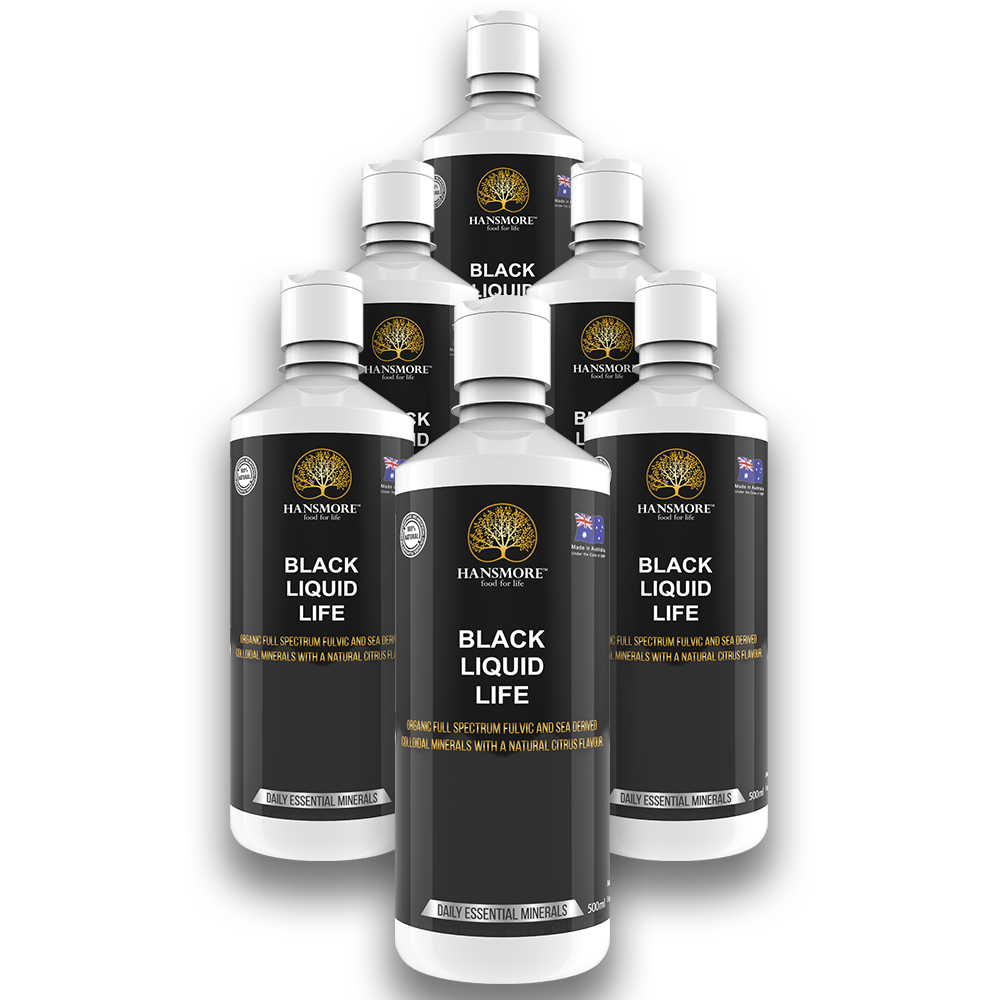 Black Liquid Life 6 Bottle