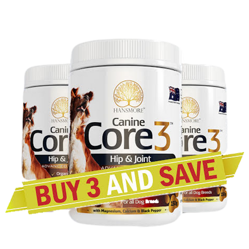Canine Core3  3 Bottle