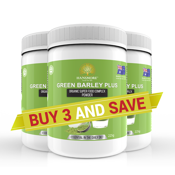 Hansmore Green Barley Plus