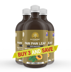 Paw Paw Leaf Super Concentrate 3 Bottle Pack
