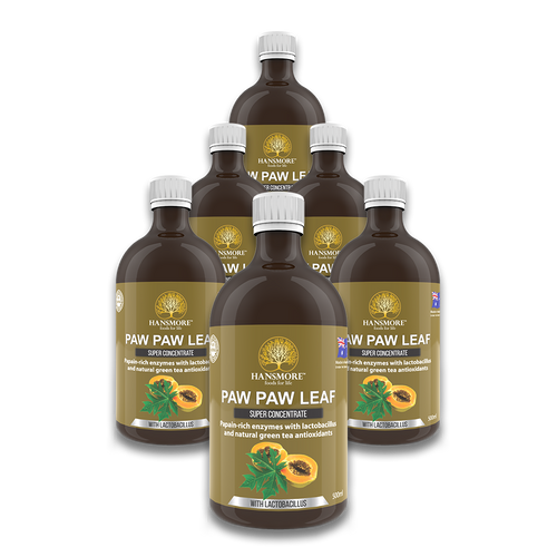Copy of Paw Paw Leaf Super Concentrate 6 Bottle Pack