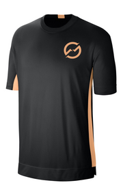 Men's Black/Orange T-Shirt