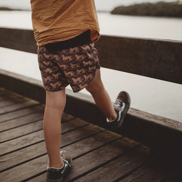 Organic Cotton Shorts - Panthera Earth