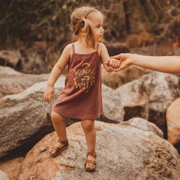Child of the Wild Singlet Dress - Acai