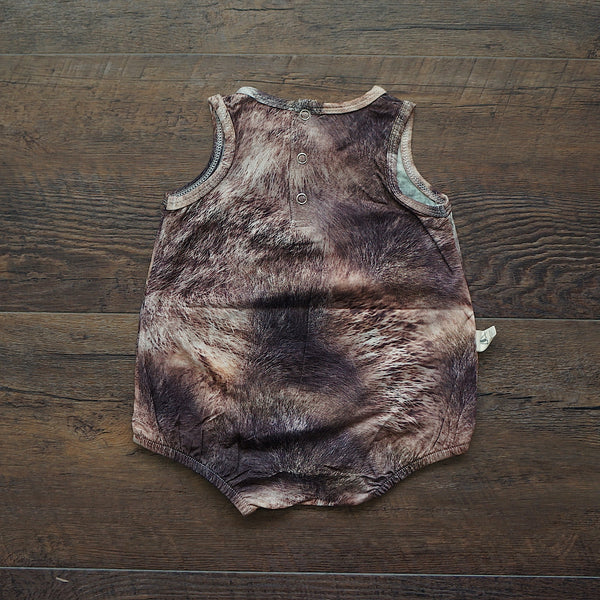 Catching Dreams Wolf Bubble Romper