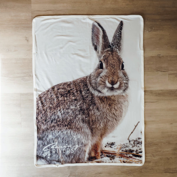 Lost in Wander Cottontail Blanket