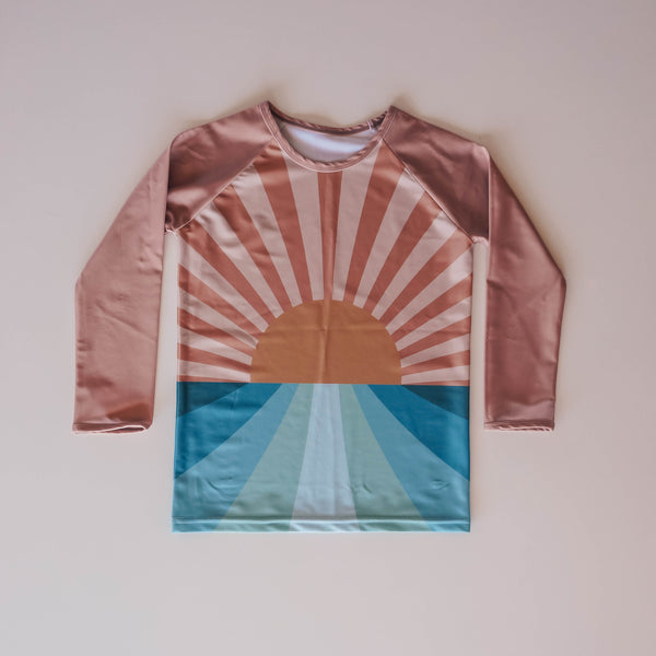 Retro Sunset Rash Shirt