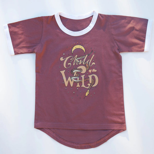 Child of the Wild Tee - Acai
