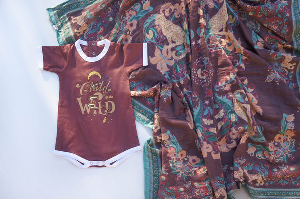 Child of the Wild Playsuit - Acai
