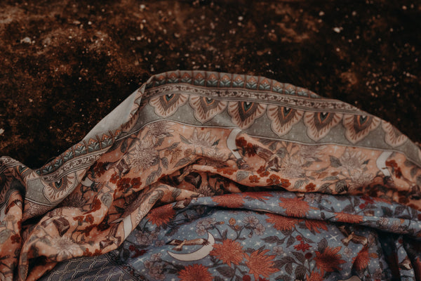 Muslin Wrap - Diamond Skies Twilight