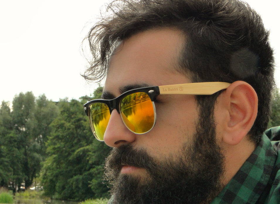 Classy bamboo sunglasses for every occasion. La Barre Sunglasses