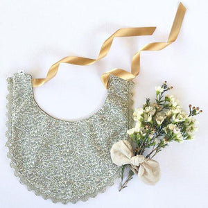 Green Liberty Reversible Luxe Bib