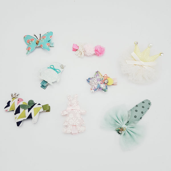 Happy Bag No. 4 - Hair Clips