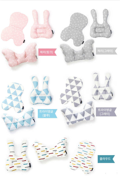 P-edition Integral Baby Chair Toddler Cushion Set (5 designs)