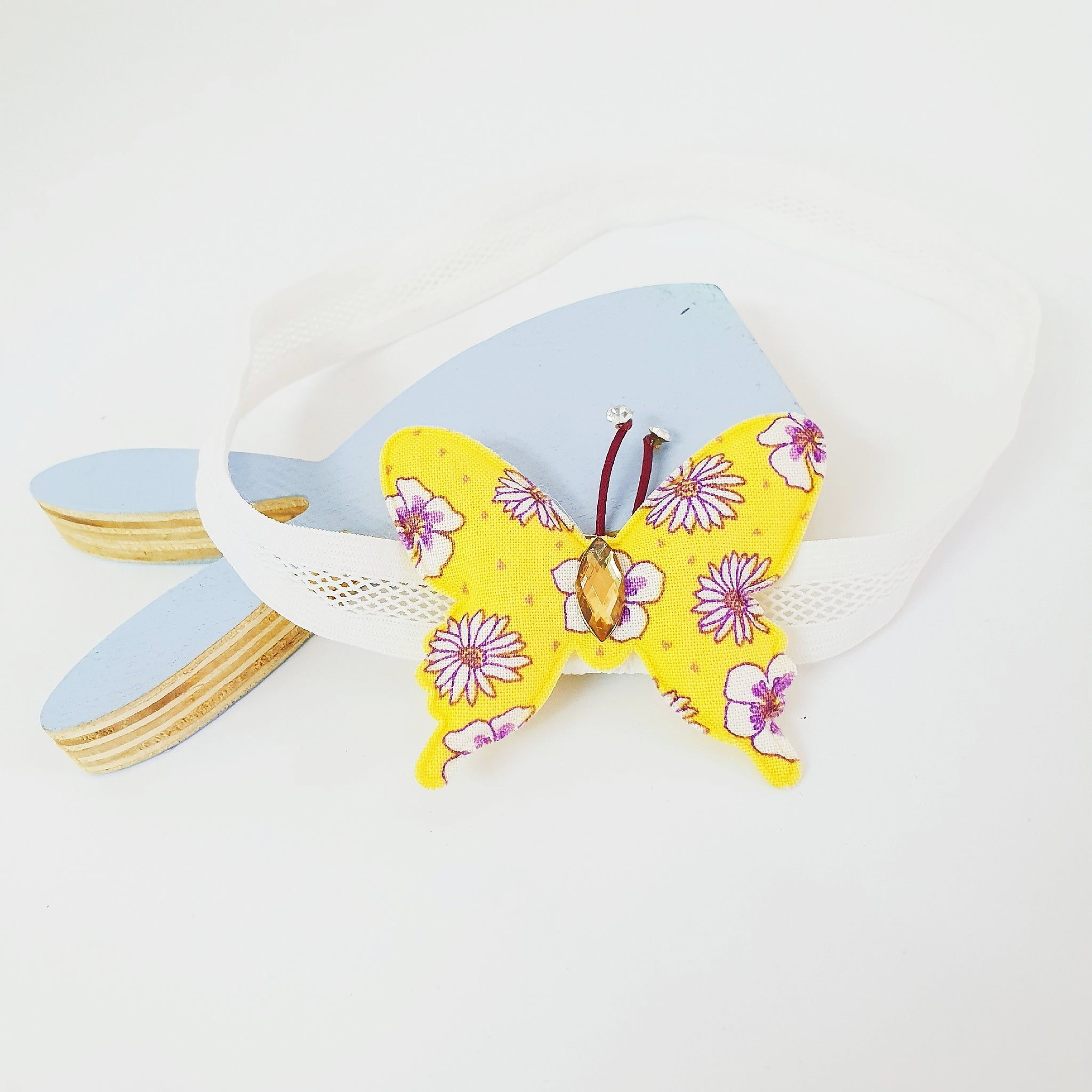 yumi butterfly soft baby band