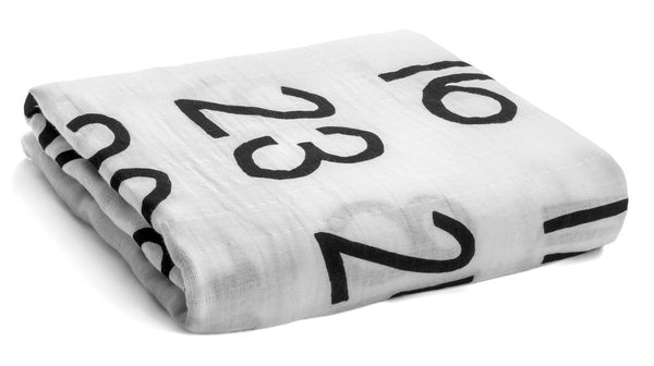 Organic Cotton Muslin Swaddle in Calendar Collection: January 2016