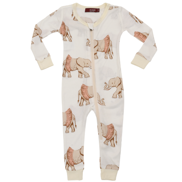 Bamboo Zippered Pajama