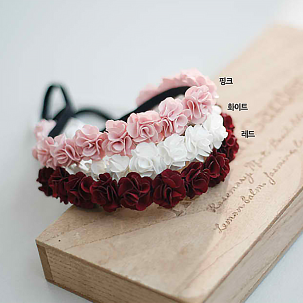baby rose baby band (3 colours)
