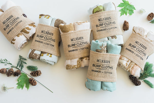 Bamboo + Cotton Bundle of Burpies in Alpaca (Blue)