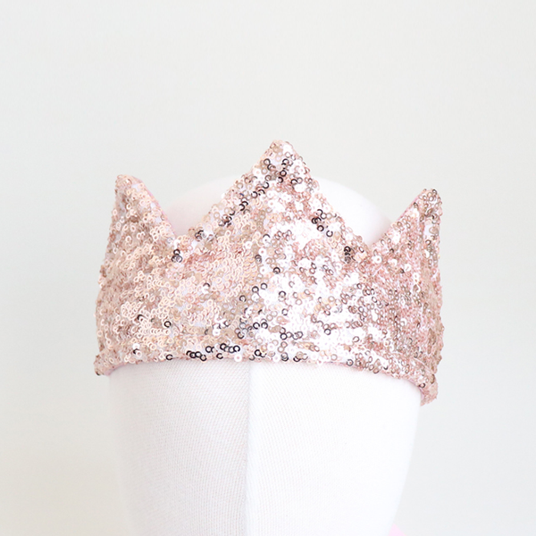 belle sequined crown band (3 colors)