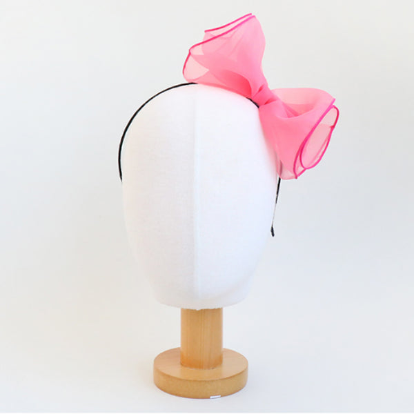 big ribbon froufrou headband (7 colours)