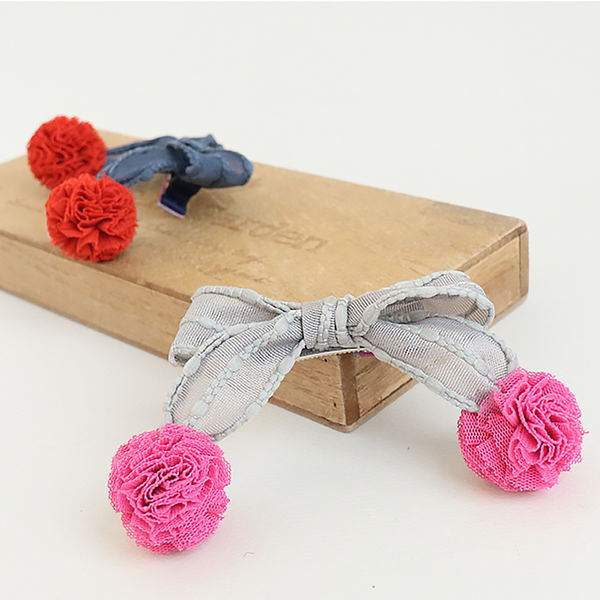 blossom ribbon pin (5 colours)