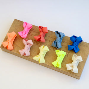 daily ribbon nonslip tong pin (9 colours)