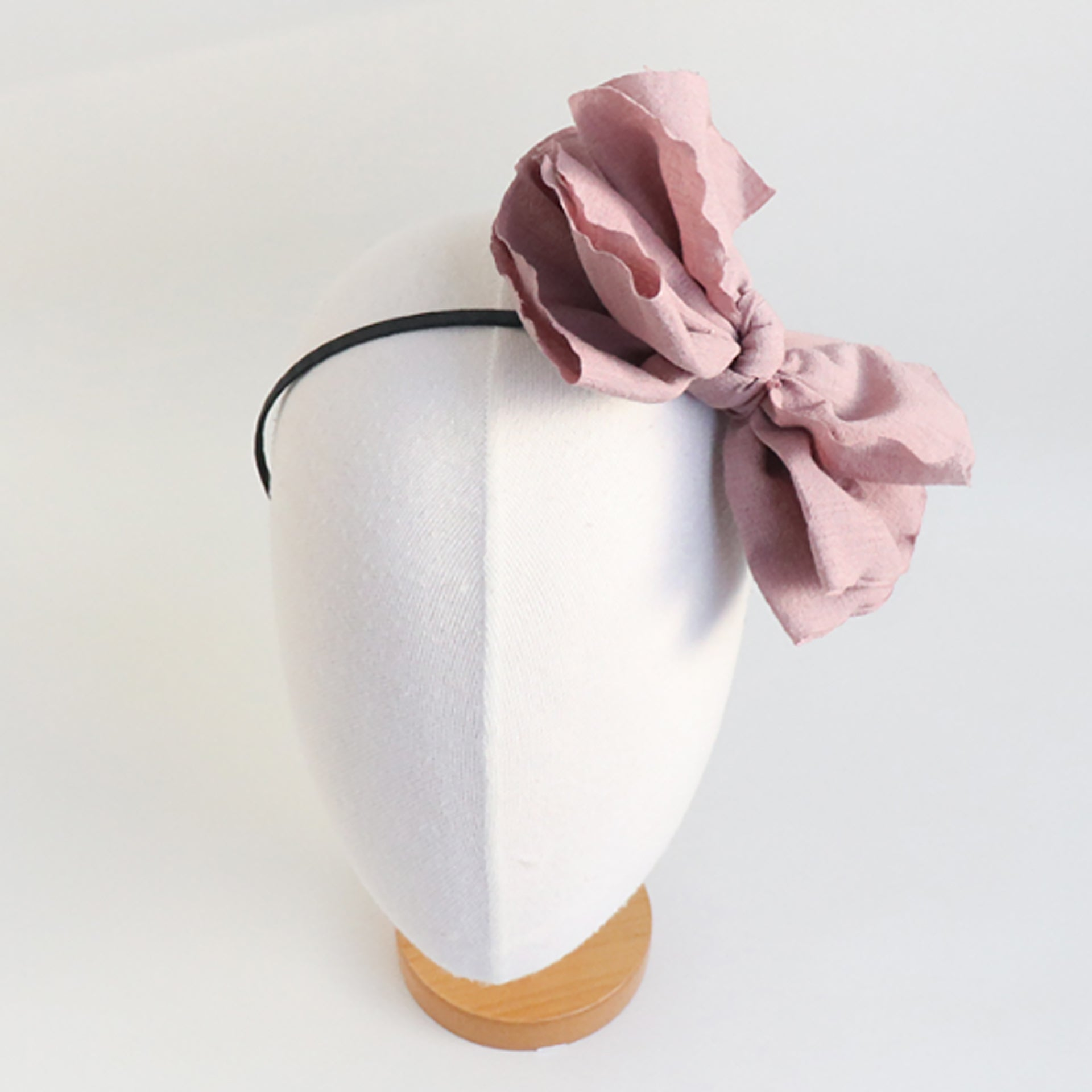 big fabric ribbon headband (4 colours)