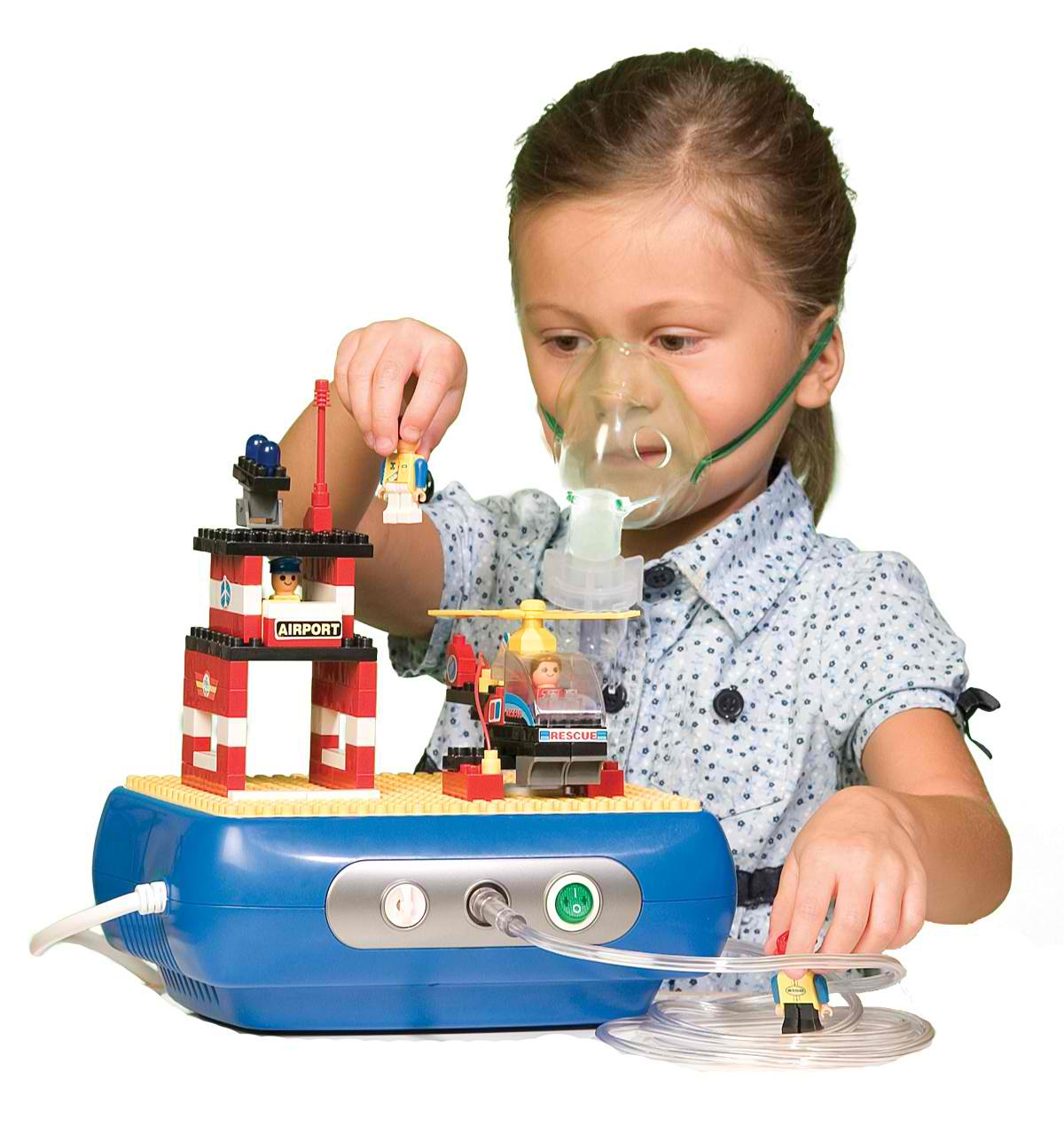 Drive Medical MQ7000 Interactive Building Block Nebulizer